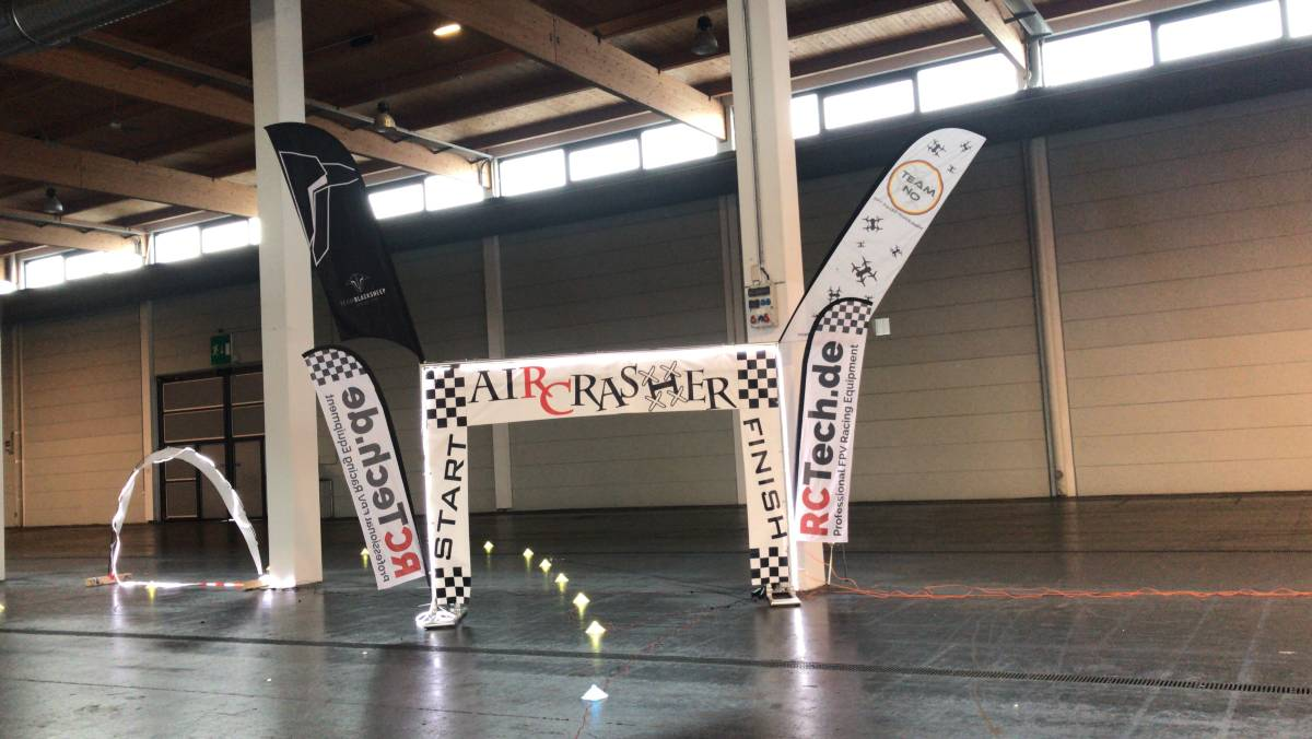 Start Ziel - FPV Show Race Faszination Modellbau